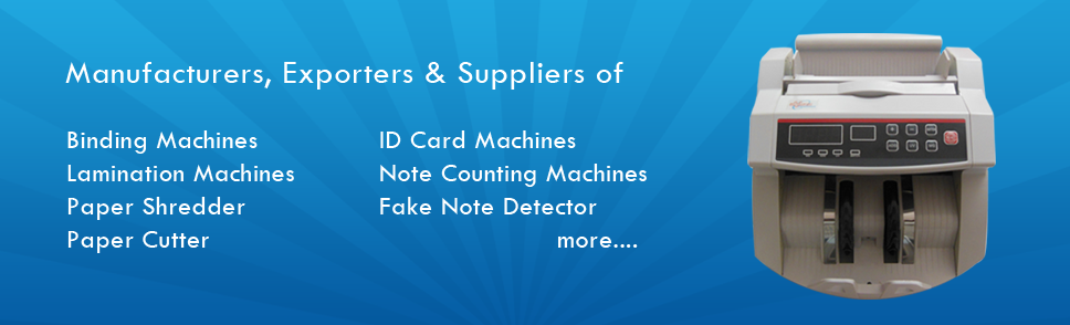 Alphaa Tradings Note Counting Machines Dealers & Suppliers